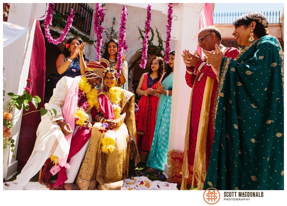Aami & Ash's Carmel Valley wedding
