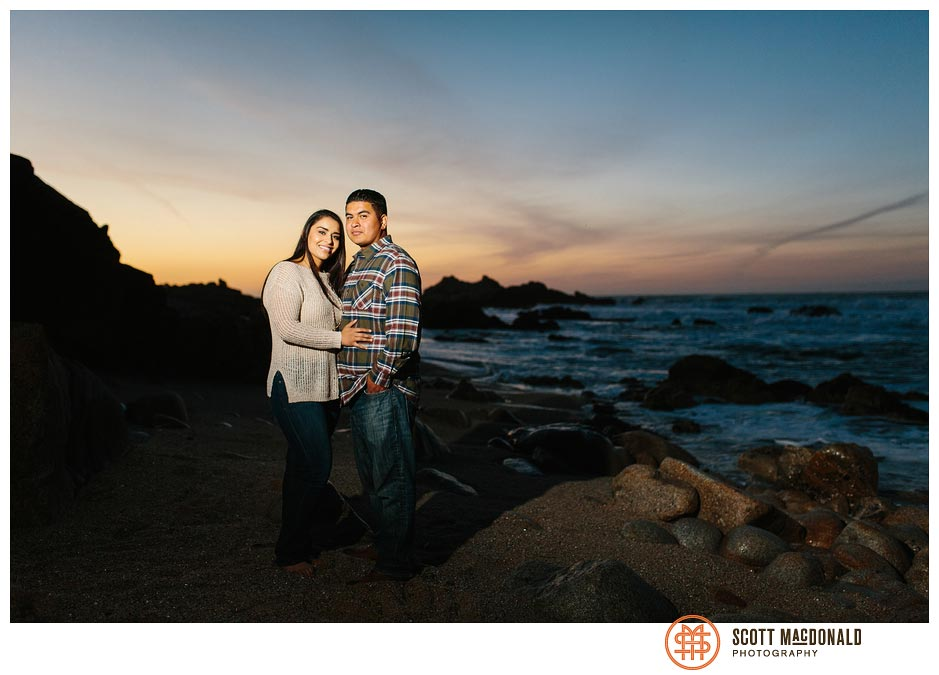 Carina & Leo's Monterey engagement session